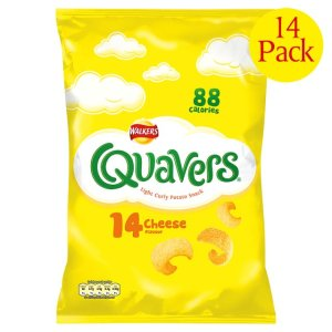 Of all the quavers. Cheesy are my favourite (and yes it has to be the 14 pack)